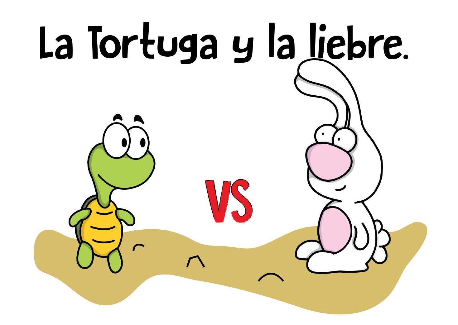 la tortuga y la liebre