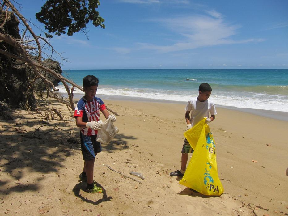 Contaminación ambiental para niños