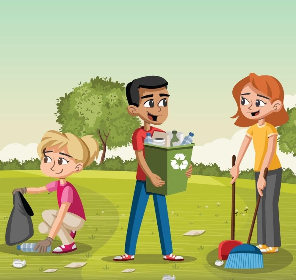 Cuidado del medio ambiente para niños