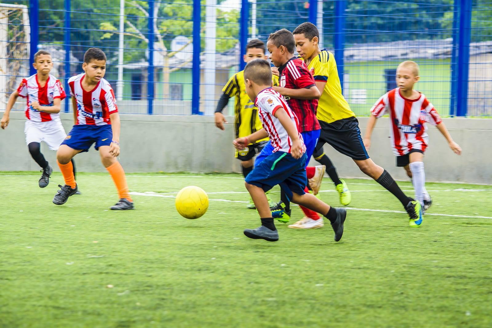 historia del fútbol para niños