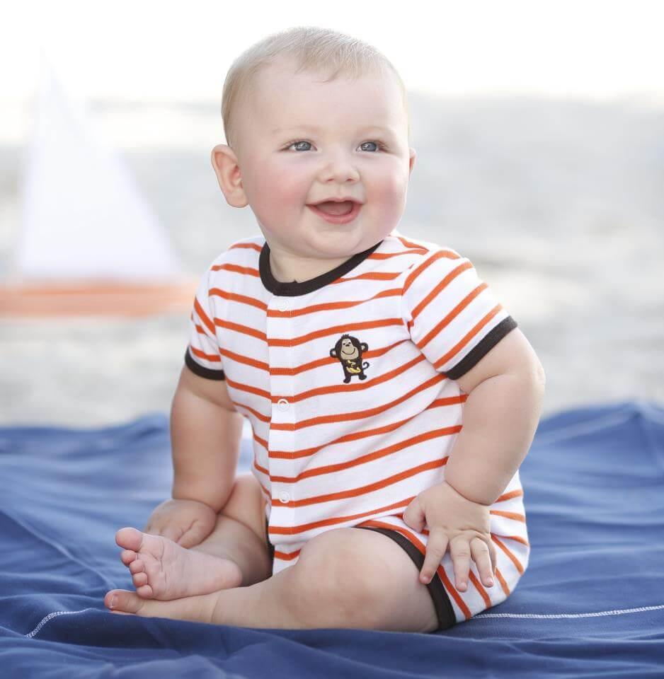 ¿A los cuantos meses se sienta a un bebé?