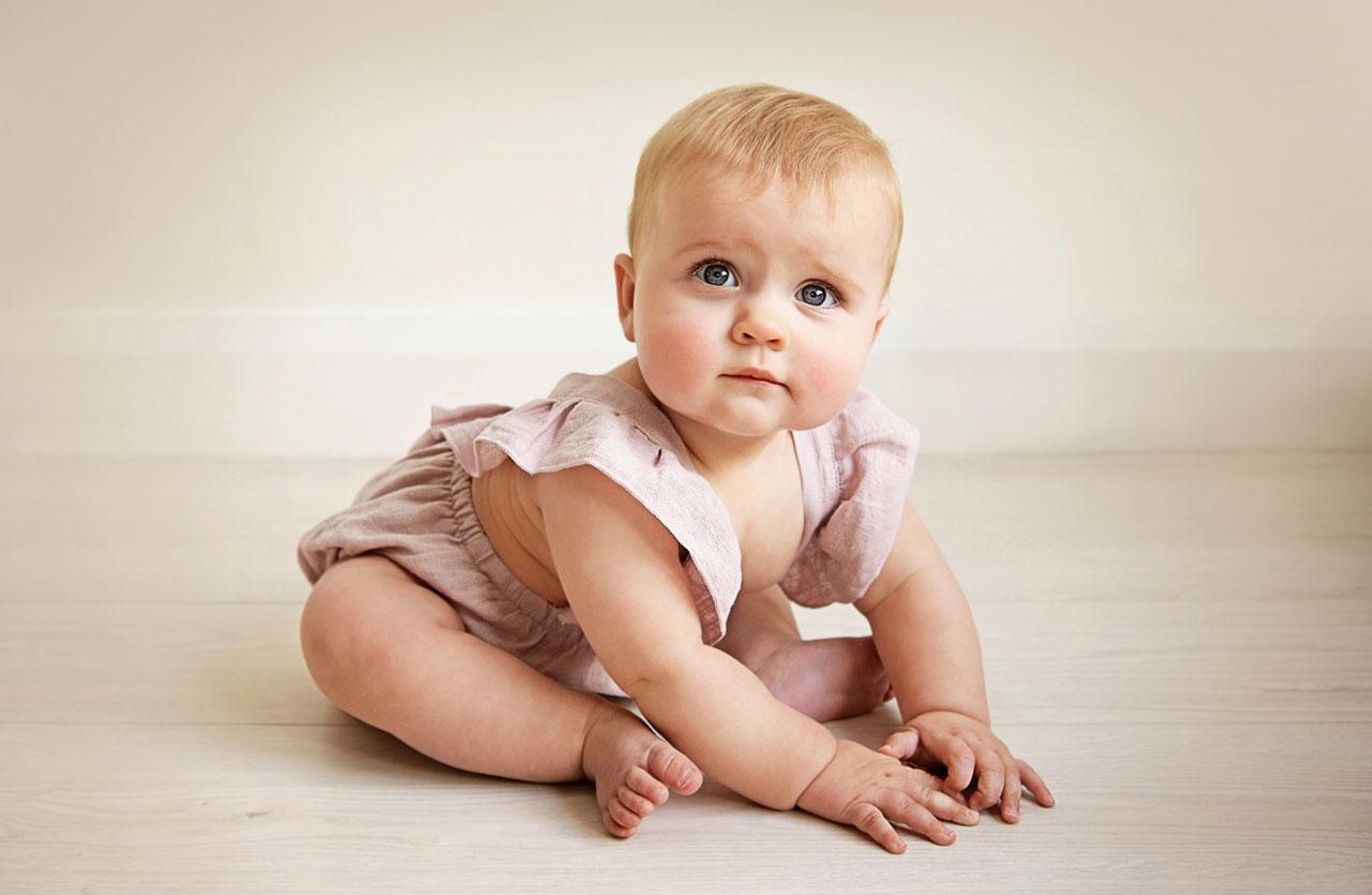 ¿A los cuantos meses se sienta un bebé?
