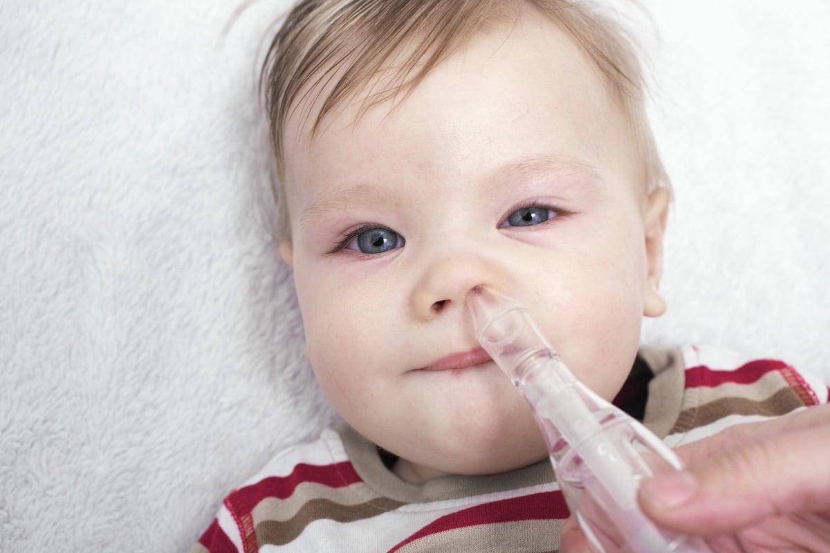 resfríos en bebés