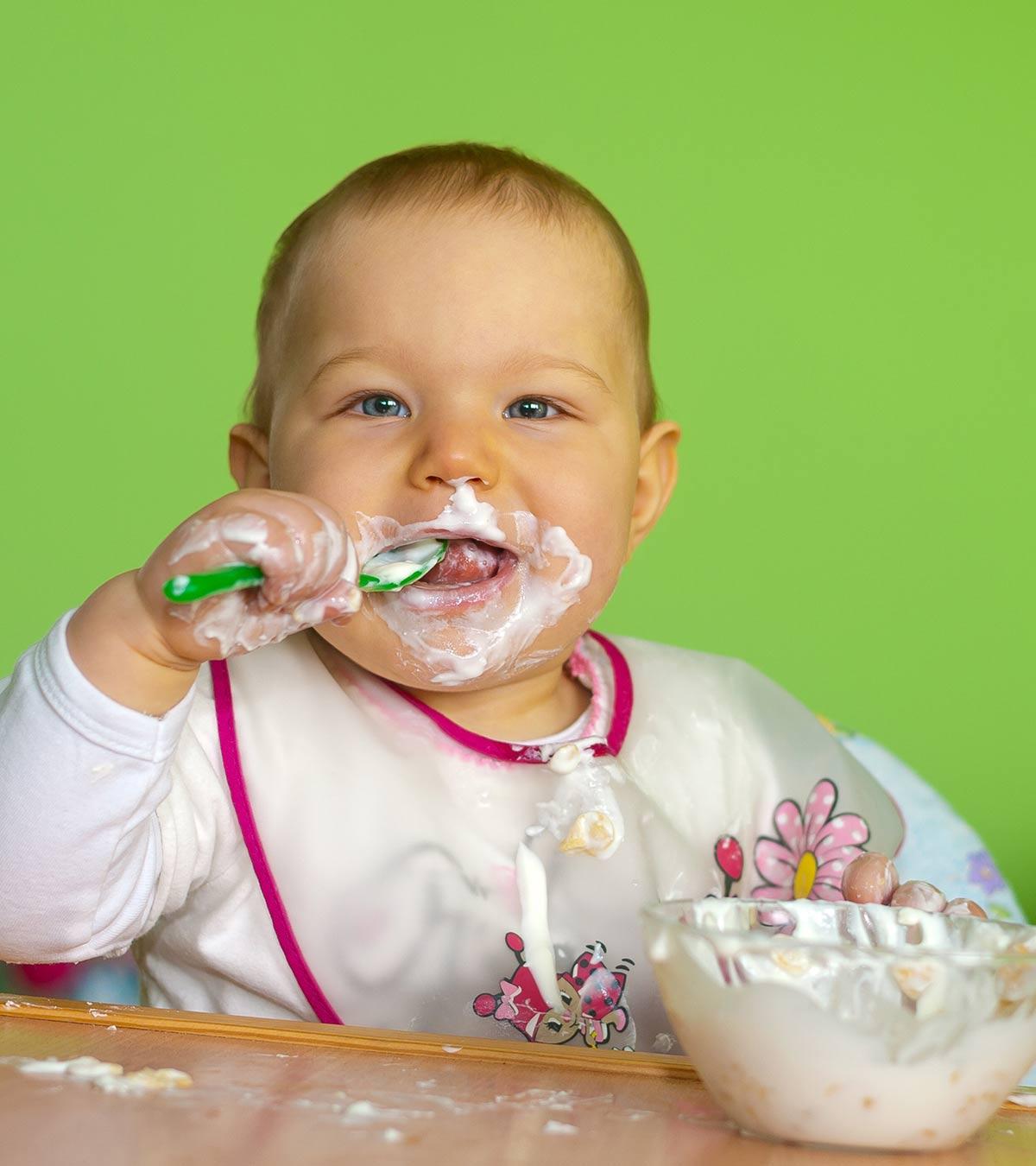 yogurt para bebés