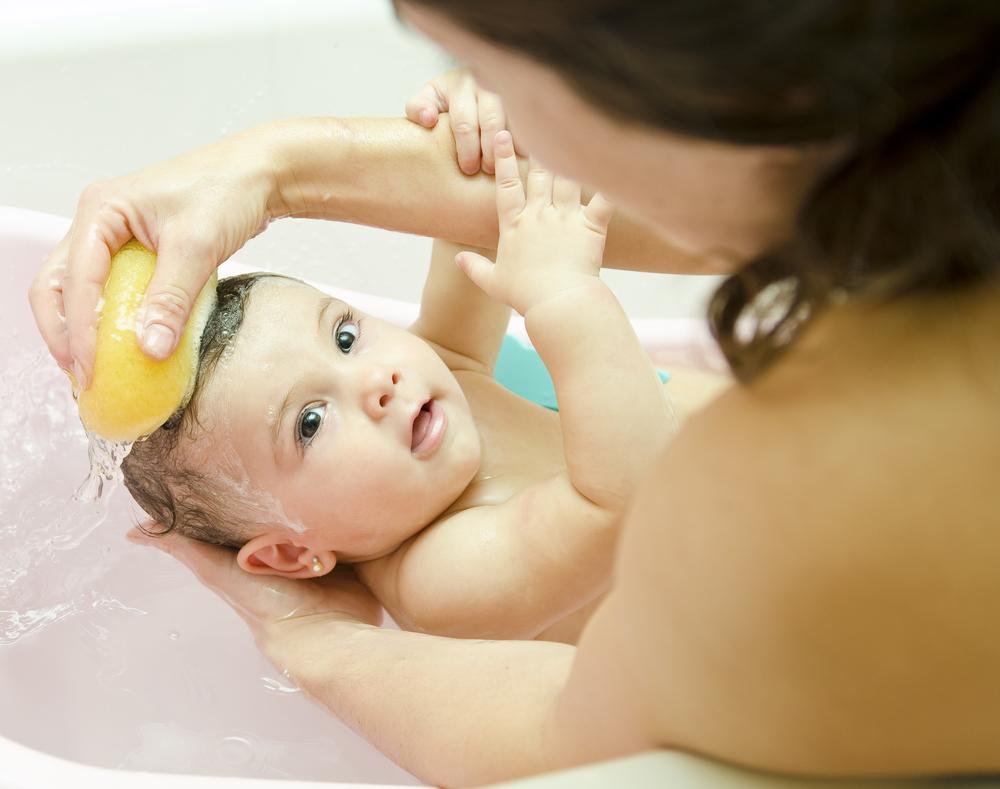 Temperatura del baño para bebé