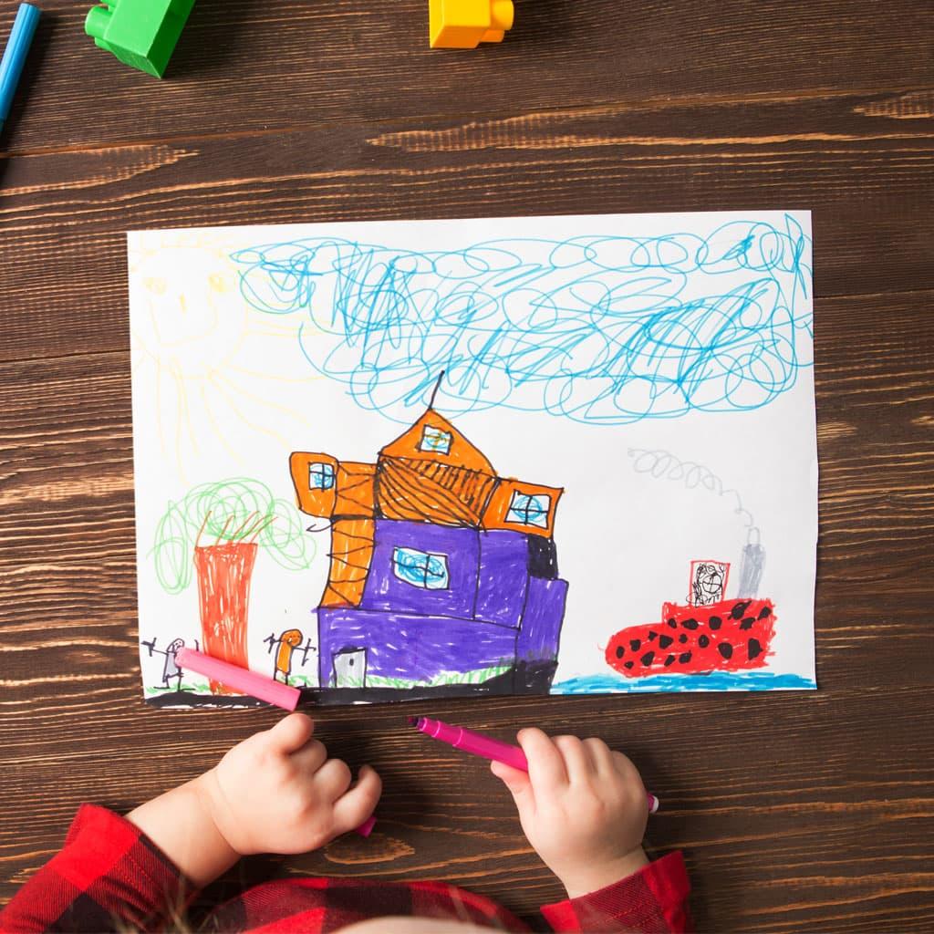 interpretación de dibujos de niños