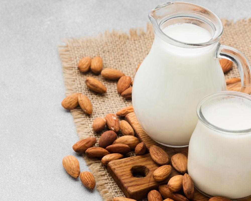 leche de almendras para bebés