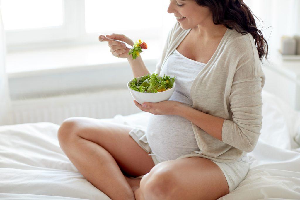 Dieta para embarazada con sobrepeso