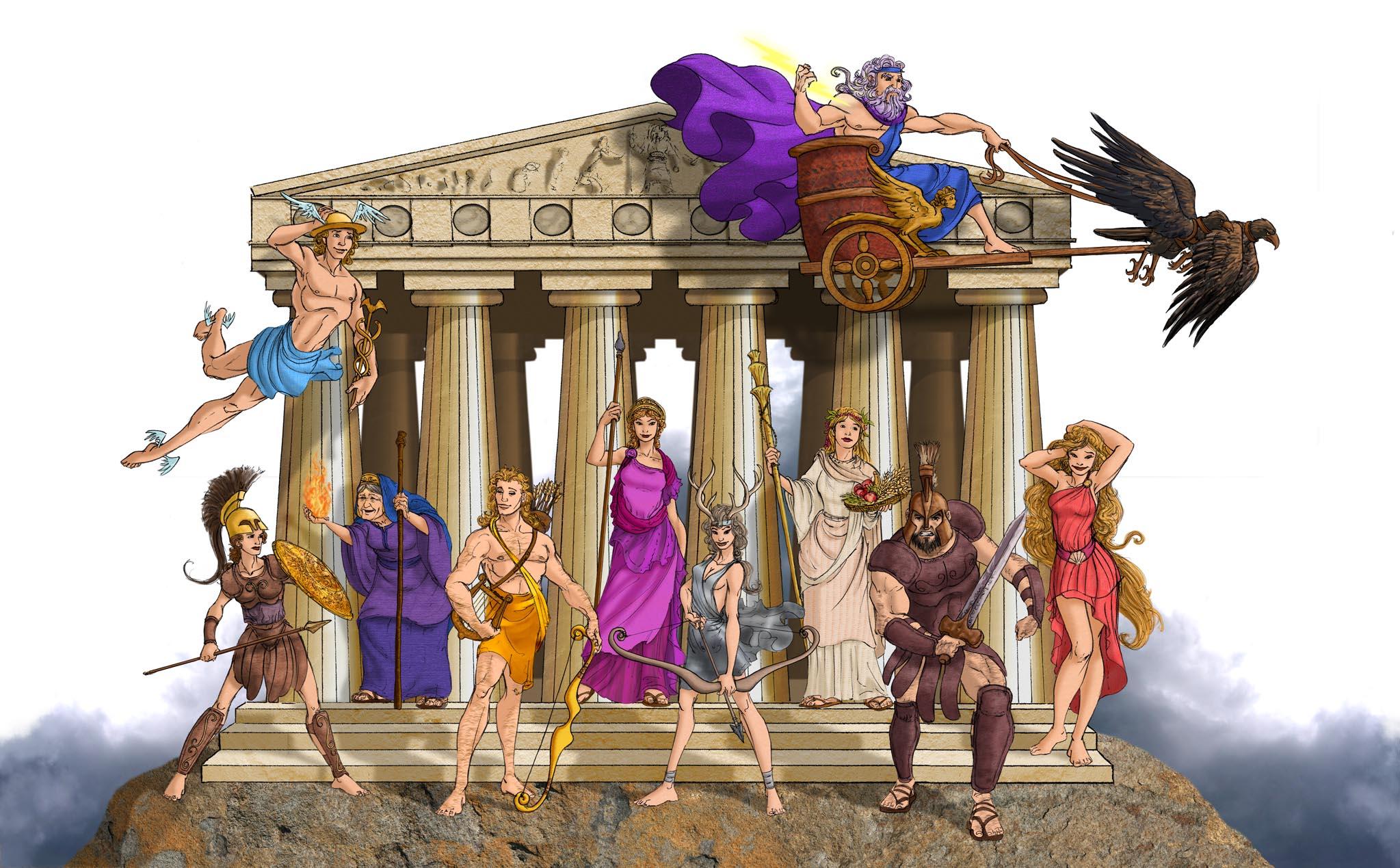 cuento griegos