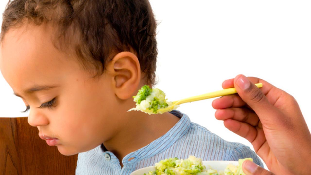 niños que no comen