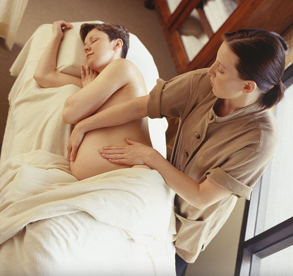 masajes para embarazadas