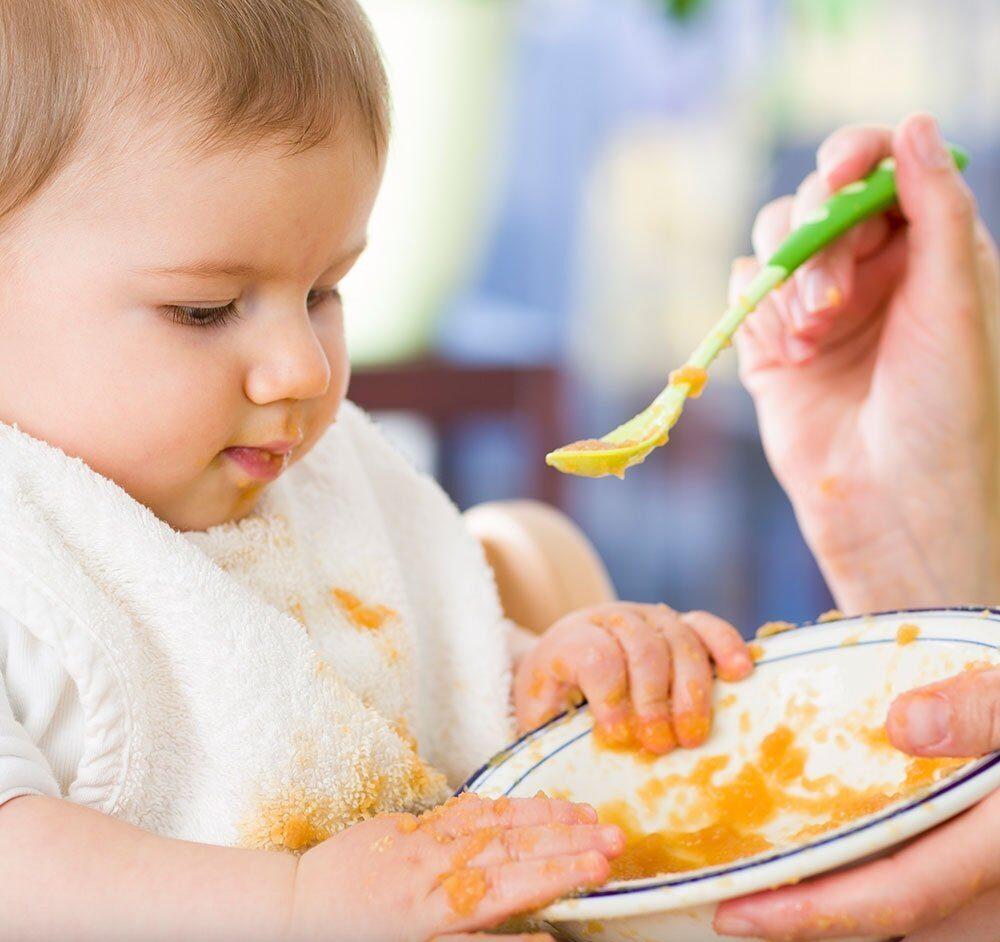 recetas de puré para bebe de 6 meses